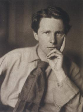 Rupert Brooke English Writer, in 1913