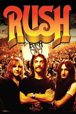 Rush- Band And Fans