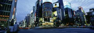 Rush Hour in the City, Ginza, Tokyo, Japan