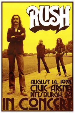 Rush In Concert 1974