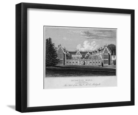 Rushton Hall, Northamptonshire--Framed Giclee Print