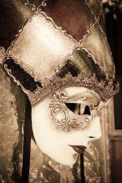 Carnival mask, Venice, Veneto, Italy by Russ Bishop