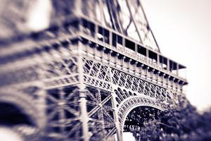 Detail of the Eiffel Tower. Paris, France by Russ Bishop
