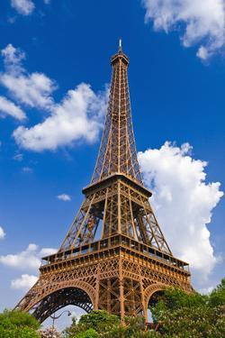 Eiffel Tower. Paris, France by Russ Bishop