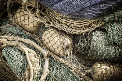Fishing nets, Burano, Veneto, Italy