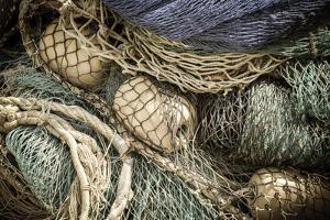 Fishing nets, Burano, Veneto, Italy by Russ Bishop