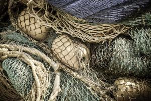 Fishing nets, Burano, Veneto, Italy by Russ Bishop