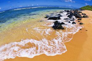 Larsen's Beach, North Shore, Island of Kauai, Hawaii by Russ Bishop