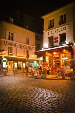 Le Consulat Restaurant, Montmartre, Paris, France by Russ Bishop