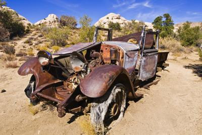 Old truck at the Wall Street Stamp Mill, Joshua Tree National Park, California, USA by Russ Bishop