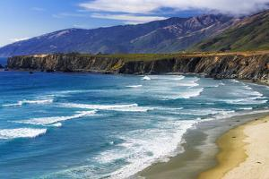 Sand Dollar Beach, Los Padres National Forest, Big Sur, California, USA by Russ Bishop