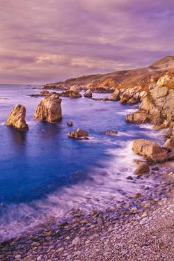 Sea Stacks and Rocky Coastline at Soberanes Point, Garrapata State Park, Big Sur, California, Usa by Russ Bishop