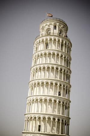 The Leaning Tower of Pisa, Pisa, Tuscany, Italy by Russ Bishop