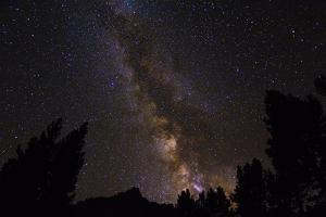 The Milky Way over the Palisades, John Muir Wilderness, Sierra Nevada Mountains, California, Usa by Russ Bishop