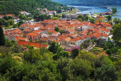 The town of Ston from the Great Wall, Ston, Dalmatian Coast, Croatia by Russ Bishop