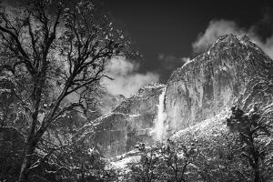 Yosemite Falls after a winter storm, Yosemite National Park, California, USA by Russ Bishop