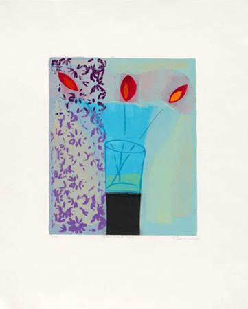 Blue Glass Vase, c.2001