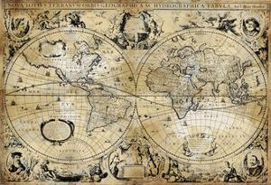 Antique Map I by Russell Brennan