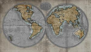 Map of the World by Russell Brennan