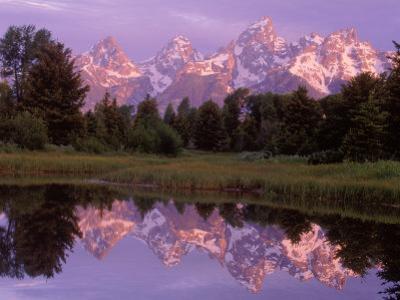 Mountains and Lake, Grand Teton National Park, WY