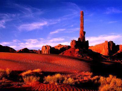 Totem Pole, Monument Valley, AZ
