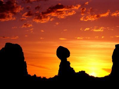 Utah, Arches National Park, Balanced Rock