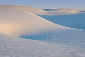 White Sands Natl Mon at Sunrise by Russell Burden