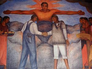 Murals by Diego Rivera, Secretary of Public Education, Mexico by Russell Gordon