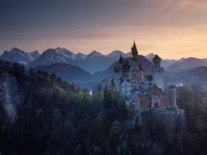 Neuschwanstein Castle, Germany by Russell Gordon