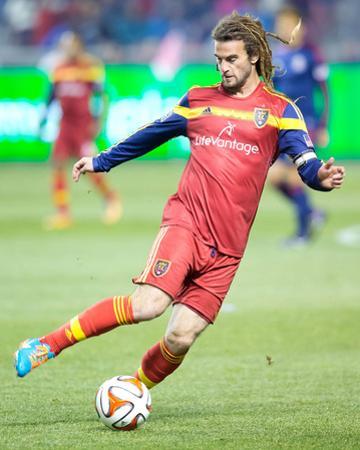 Oct 22, 2014 - MLS: Chivas USA vs Real Salt Lake - Kyle Beckerman by Russell Isabella