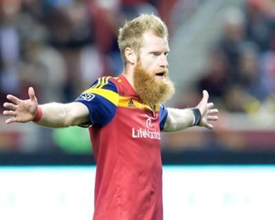 Oct 22, 2014 - MLS: Chivas USA vs Real Salt Lake - Nat Borchers by Russell Isabella