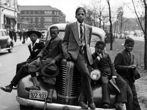 Southside Boys, Chicago, 1941 by Russell Lee
