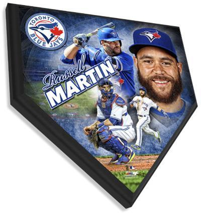 Russell Martin Home Plate Plaque