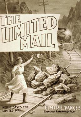 The Limited Mail by Russell-Morgan Print