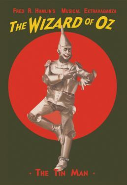 The Wizard of Oz - the Tin Man by Russell-Morgan Print