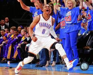Russell Westbrook 2011-12 Playoff Action