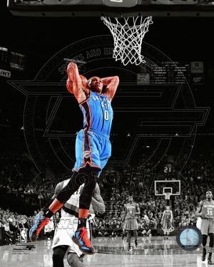 Russell Westbrook 2011-12 Spotlight Action