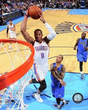 Russell Westbrook 2013-14 Action
