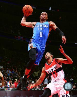Russell Westbrook 2015-16 Action