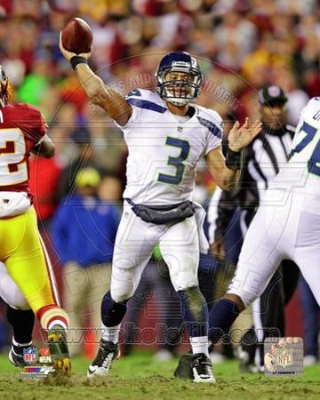Russell Wilson 2012 Playoff Action