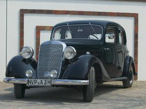 Antique Mercedes, Germany by Russell Young