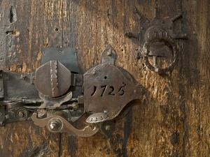 Door Lock, Vogo Stave Church, Vagamo, Norway by Russell Young