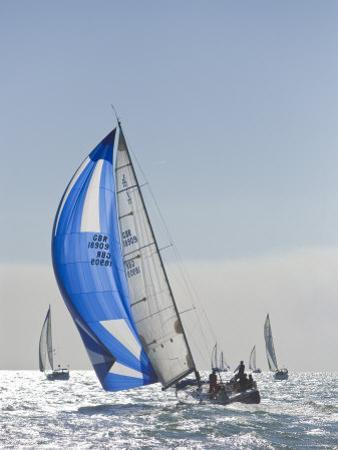 Harvest Moon Regatta, Galveston, Texas, USA by Russell Young