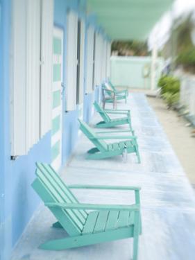 Hotel Verandah, Caye Caulker, Belize by Russell Young