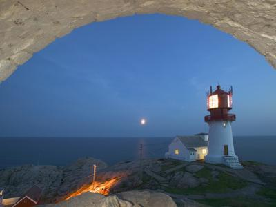 Lindesnes Fyr, Norway by Russell Young