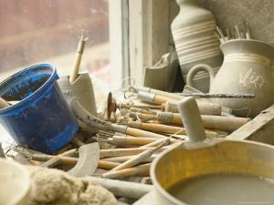 Potter's Tools, Egersund, Norway by Russell Young