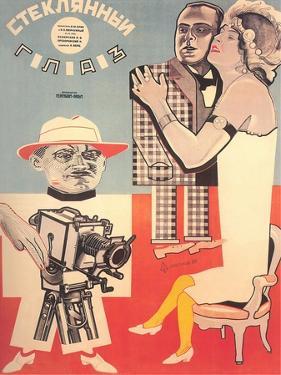 Russian Cameraman Poster