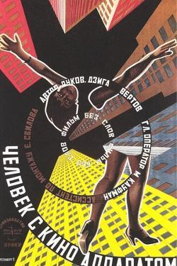 Russian Film Poster with Limbs