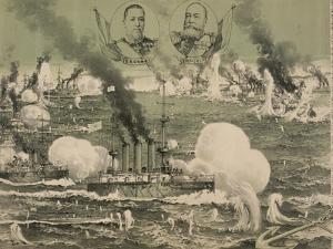 Russian Fleet Destroyed Lushun