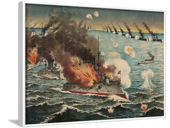 Russian Fleet Destroyed--Framed Art Print